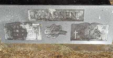 KLASSEN, DAVE J - Delaware County, Oklahoma | DAVE J KLASSEN - Oklahoma Gravestone Photos