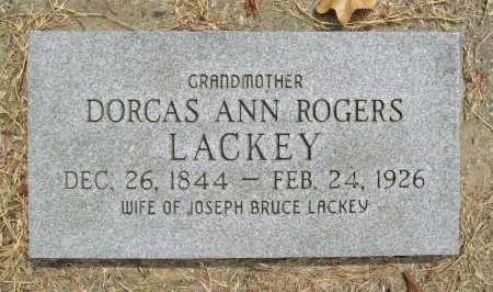 LACKEY, DORCAS ANN - Delaware County, Oklahoma | DORCAS ANN LACKEY - Oklahoma Gravestone Photos