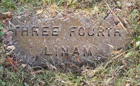 LINAM, THREE FOURTH - Delaware County, Oklahoma | THREE FOURTH LINAM - Oklahoma Gravestone Photos