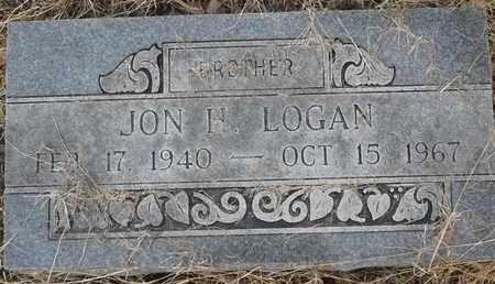 LOGAN, JON H - Delaware County, Oklahoma   JON H LOGAN - Oklahoma Gravestone Photos
