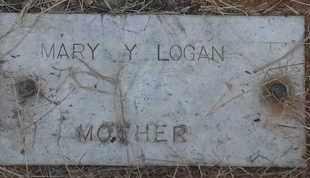 LOGAN, MARY Y - Delaware County, Oklahoma | MARY Y LOGAN - Oklahoma Gravestone Photos