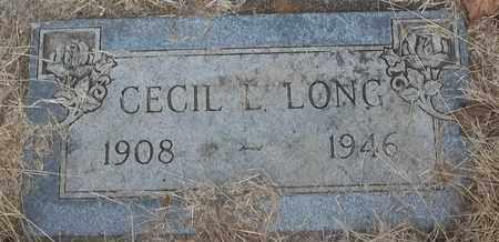 LONG, CECIL L - Delaware County, Oklahoma | CECIL L LONG - Oklahoma Gravestone Photos