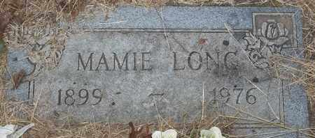LONG, MAMIE - Delaware County, Oklahoma | MAMIE LONG - Oklahoma Gravestone Photos