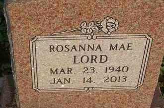 LORD, ROSANNA MAE - Delaware County, Oklahoma | ROSANNA MAE LORD - Oklahoma Gravestone Photos