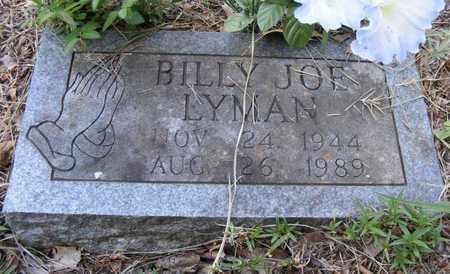 LYMAN, BILLY JOE - Delaware County, Oklahoma   BILLY JOE LYMAN - Oklahoma Gravestone Photos
