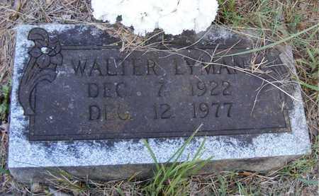 LYMAN, WALTER - Delaware County, Oklahoma | WALTER LYMAN - Oklahoma Gravestone Photos