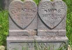 MANN, ELIZABETH - Delaware County, Oklahoma | ELIZABETH MANN - Oklahoma Gravestone Photos