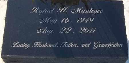 MARDEYEV, RAFAEL H - Delaware County, Oklahoma | RAFAEL H MARDEYEV - Oklahoma Gravestone Photos