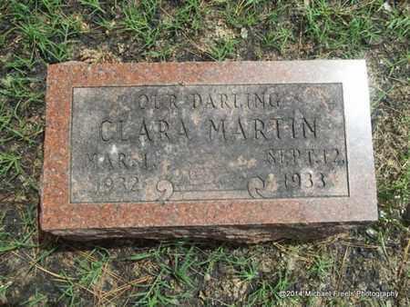 MARTIN, CLARA - Delaware County, Oklahoma | CLARA MARTIN - Oklahoma Gravestone Photos