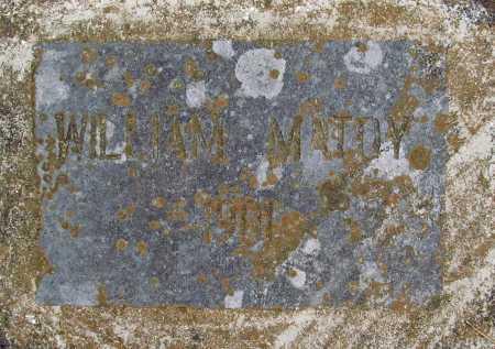 MATOY, WILLIAM - Delaware County, Oklahoma   WILLIAM MATOY - Oklahoma Gravestone Photos