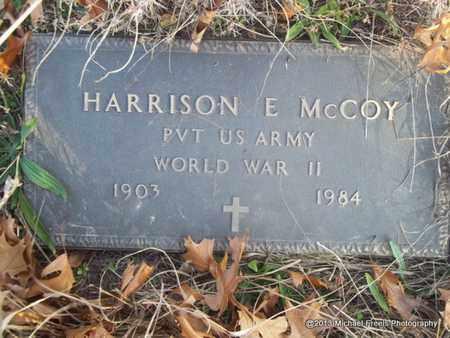 MCCOY (VETERAN WWII), HARRISON E. - Delaware County, Oklahoma | HARRISON E. MCCOY (VETERAN WWII) - Oklahoma Gravestone Photos