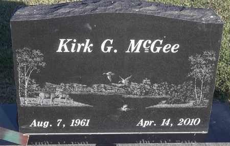 MCGEE, KIRK G - Delaware County, Oklahoma   KIRK G MCGEE - Oklahoma Gravestone Photos