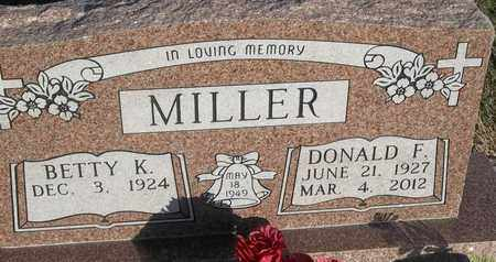 MILLER, DONALD F - Delaware County, Oklahoma   DONALD F MILLER - Oklahoma Gravestone Photos