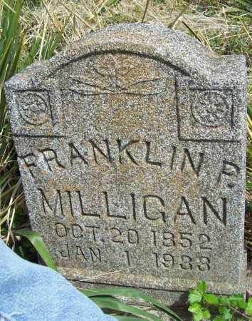 MILLIGAN, FRANKLIN PIERCE - Delaware County, Oklahoma | FRANKLIN PIERCE MILLIGAN - Oklahoma Gravestone Photos