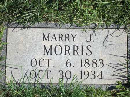 MORRIS, MARRY J - Delaware County, Oklahoma | MARRY J MORRIS - Oklahoma Gravestone Photos