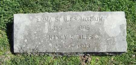 SCALES MORROW, EMMA - Delaware County, Oklahoma | EMMA SCALES MORROW - Oklahoma Gravestone Photos