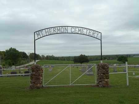 *MT HERMAN CEMETERY SIGN, . - Delaware County, Oklahoma | . *MT HERMAN CEMETERY SIGN - Oklahoma Gravestone Photos