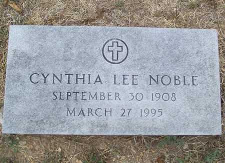 NOBLE, CYNTHIA LEE - Delaware County, Oklahoma   CYNTHIA LEE NOBLE - Oklahoma Gravestone Photos