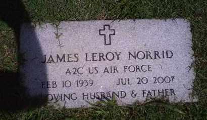 NORRID (VETERAN), JAMES LEROY - Delaware County, Oklahoma | JAMES LEROY NORRID (VETERAN) - Oklahoma Gravestone Photos