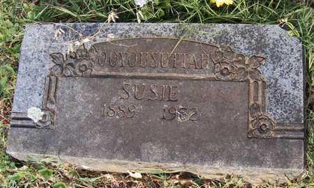 OOYOUSUTTAH, SUSIE - Delaware County, Oklahoma   SUSIE OOYOUSUTTAH - Oklahoma Gravestone Photos