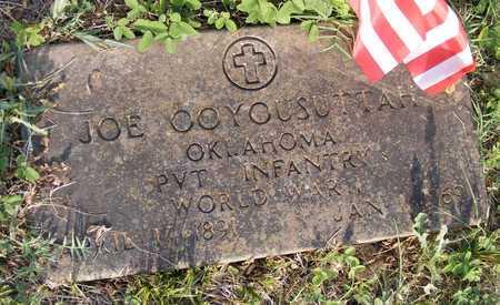 OOYOUSUTTAH (VETERAN WWII), JOE - Delaware County, Oklahoma   JOE OOYOUSUTTAH (VETERAN WWII) - Oklahoma Gravestone Photos