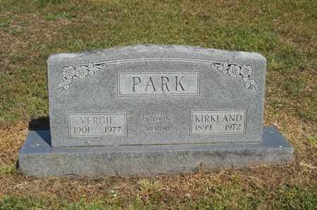 PARK, KIRKLAND - Delaware County, Oklahoma | KIRKLAND PARK - Oklahoma Gravestone Photos
