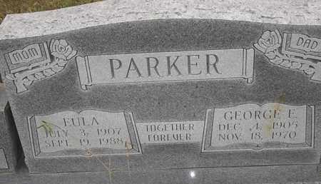 PARKER, GEORGE E - Delaware County, Oklahoma | GEORGE E PARKER - Oklahoma Gravestone Photos