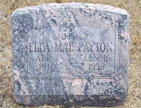 PAYTON, ELLA MAE - Delaware County, Oklahoma   ELLA MAE PAYTON - Oklahoma Gravestone Photos