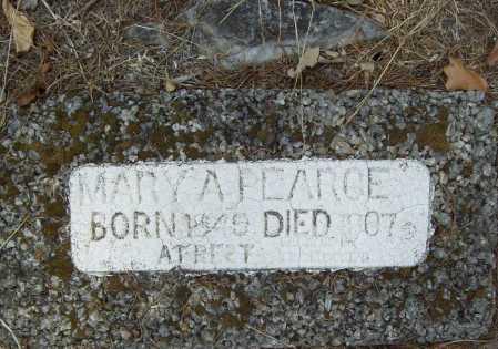 PEARCE, MARY A - Delaware County, Oklahoma | MARY A PEARCE - Oklahoma Gravestone Photos