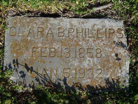 PHILLIPS, CLARA B - Delaware County, Oklahoma   CLARA B PHILLIPS - Oklahoma Gravestone Photos
