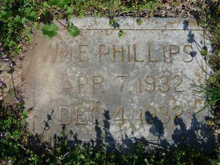PHILLIPS, WILLIAM E - Delaware County, Oklahoma | WILLIAM E PHILLIPS - Oklahoma Gravestone Photos