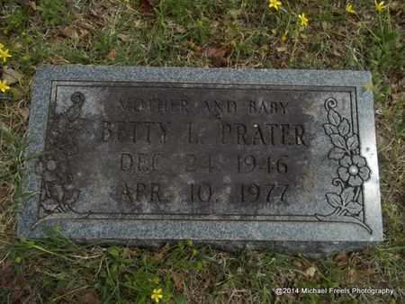 PRATER, BETTY L. - Delaware County, Oklahoma   BETTY L. PRATER - Oklahoma Gravestone Photos