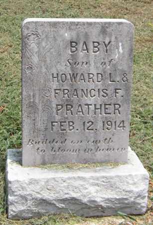 PRATHER, INFANT - Delaware County, Oklahoma | INFANT PRATHER - Oklahoma Gravestone Photos