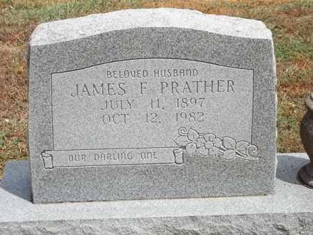 PRATHER, JAMES F - Delaware County, Oklahoma | JAMES F PRATHER - Oklahoma Gravestone Photos