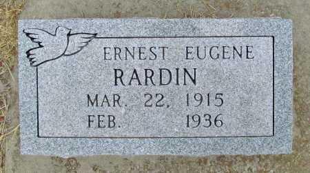 RARDIN, ERNEST EUGENE - Delaware County, Oklahoma | ERNEST EUGENE RARDIN - Oklahoma Gravestone Photos