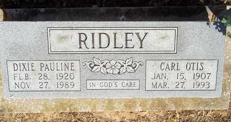 RIDLEY, CARL OTIS - Delaware County, Oklahoma | CARL OTIS RIDLEY - Oklahoma Gravestone Photos