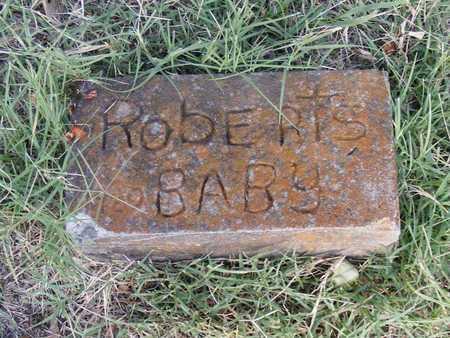 ROBERTS, BABY - Delaware County, Oklahoma | BABY ROBERTS - Oklahoma Gravestone Photos