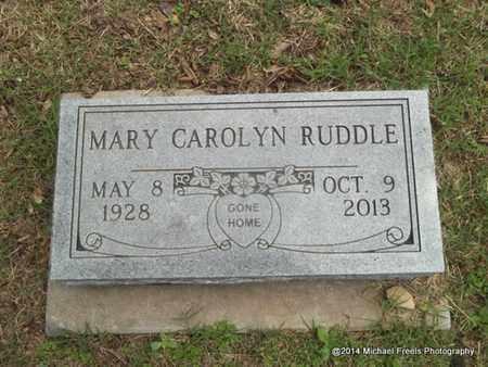 RUDDLE, MARY CAROLYN - Delaware County, Oklahoma | MARY CAROLYN RUDDLE - Oklahoma Gravestone Photos