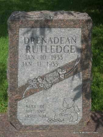RUTLEDGE, DRENADEAN - Delaware County, Oklahoma | DRENADEAN RUTLEDGE - Oklahoma Gravestone Photos