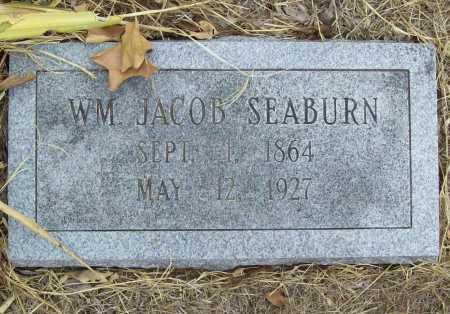 SEABURN, WILLIAM JACOB - Delaware County, Oklahoma | WILLIAM JACOB SEABURN - Oklahoma Gravestone Photos