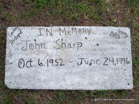 SHARP, JOHN - Delaware County, Oklahoma | JOHN SHARP - Oklahoma Gravestone Photos