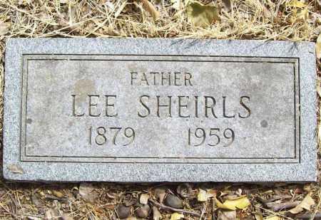 SHEIRLS, LEE - Delaware County, Oklahoma | LEE SHEIRLS - Oklahoma Gravestone Photos