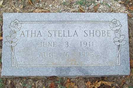 SHOBE, ATHA STELLA - Delaware County, Oklahoma | ATHA STELLA SHOBE - Oklahoma Gravestone Photos