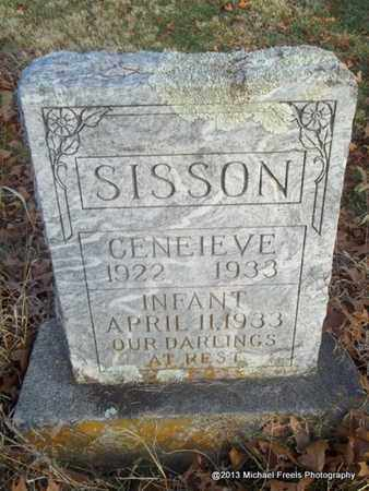 SISSON, GENEIEVE - Delaware County, Oklahoma | GENEIEVE SISSON - Oklahoma Gravestone Photos