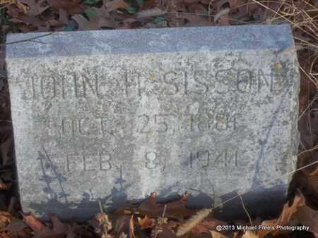 SISSON, JOHN H. - Delaware County, Oklahoma | JOHN H. SISSON - Oklahoma Gravestone Photos