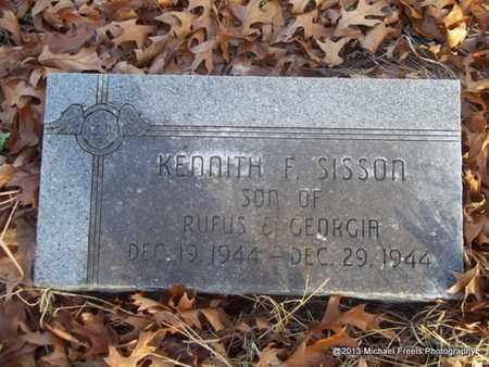 SISSON, KENNITH F. - Delaware County, Oklahoma | KENNITH F. SISSON - Oklahoma Gravestone Photos