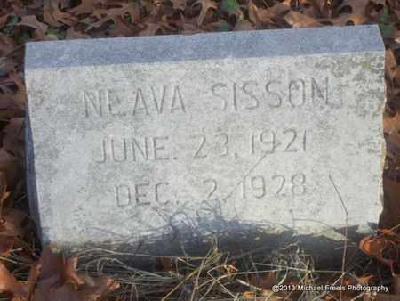 SISSON, NEAVA - Delaware County, Oklahoma | NEAVA SISSON - Oklahoma Gravestone Photos