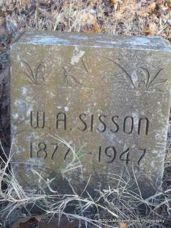 SISSON, W.A. - Delaware County, Oklahoma   W.A. SISSON - Oklahoma Gravestone Photos