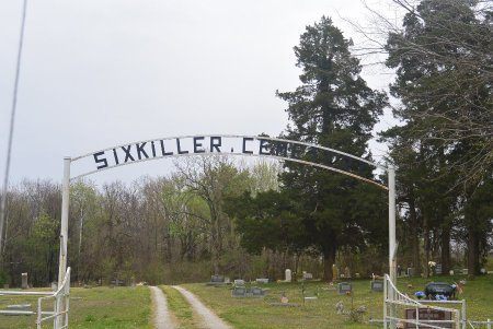 SIXKILLER CEMETERY SIGN, * - Delaware County, Oklahoma | * SIXKILLER CEMETERY SIGN - Oklahoma Gravestone Photos