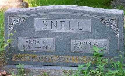 SNELL, COMINGS C - Delaware County, Oklahoma | COMINGS C SNELL - Oklahoma Gravestone Photos